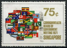 Singapore 1971 SG#148, 75c Heads Of Government Meeting Used #D18535
