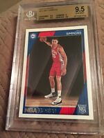 2016-17 Panini NBA Hoops Green #261 Ben Simmons RC Rookie BGS 9.5