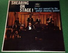 The George Shearing Quintet - Shearing On Stage (Capitol T1187) Vinyl LP Record
