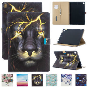 Smart Leather Wallet Case Cover Fr iPad 234 6th 7th 8th Gen Air 9.7 10.2 11 2020
