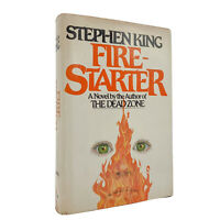 Firestarter – RARE FIRST EDITION – 1st Printing – ORIGINAL DJ Stephen KING 1980