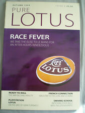 Pure Lotus revista Folleto otoño de 1999 edición 4