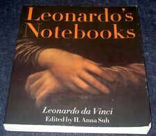 Leonardo's Note Books Leonardo daVinci -2005 Large Paperback-Illustrated-English