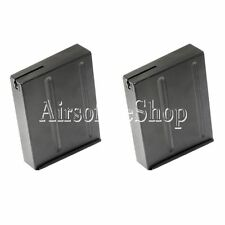 Airsoft CYMA 2pcs 100rd Magazine For L96 Series Rifle AEG Black