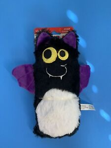Kong Huggz Black Bat Big Squeak Halloween Dog Toy Large Fetch Toy DURABLE NWT