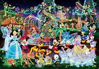 1000 piece jigsaw puzzle Disney Magical illumination world's smallest 1000 piece
