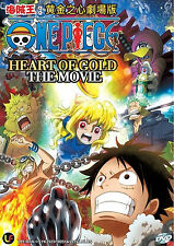 Anime DVD: One Piece: Heart of Gold The Movie_Good English Sub_FREE SHIPPING