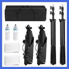 700W 5500K Photography Studio Soft Box Lighting Kit Continuous Light Equipment F