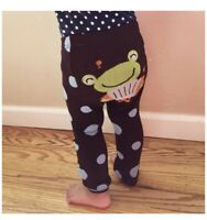 WRAPABLES Baby Leggings Accordion Frog - Size 6-12 Months