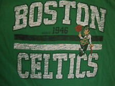 NBA Boston Celtics National Basketball Association Fan Green Soft T Shirt XL