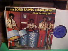 Lord Saints Calypso Group - Come Sailing In LP VG++ SLP302 Vinyl 1971 Record 1st