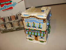 California Creations Holiday Christmas Village Hand Painted Cafe  # SE 178