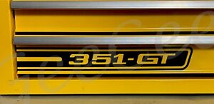 Ford Xy Gt 351 Phase 3 Decal Sticker For Toolbox Laptop Window Boat Xw Xb Xc Xa