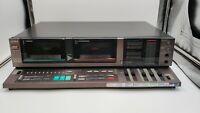 AIWA WX 220 Stereo Double Cassette Deck AD-WX220U Needs Capstan Belts