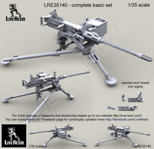 LIVE RESIN,1/35,LRE35140, M3D/Dragon M-50 .50 Caliber Machine Gun on M3 tripod
