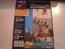 **j Loco Revue n°565 Gare de Lacanche / La BB 67400 / 1C 1001 / Jep HO