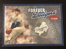 2004 Fleer Greats OREL HERSHISER Forever Dodgers SP #d 0010/1983!