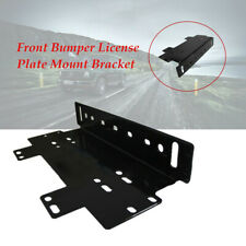 Offroad Lamps/LED Light Bar Front Bumper License Plate Mount Bracket Holder