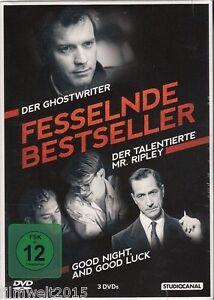 Good Night, and Good Luck | Der Ghostwriter | Der talentierte Mr. Ripl(NEU&OVP)
