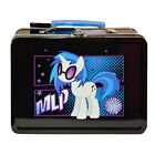MY LITTLE PONY DJ PON3 TIN METAL LUNCH BOX CARRY ALL STORAGE GIFT BAG NEW