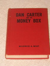 Mildred Wirt, Dan Carter and the Money Box, 1950 Excellent Hardcover.