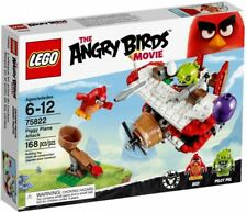 Lego The Angry Birds Movie Piggy Plane Attack 75822 Building Kit 168 Pcs