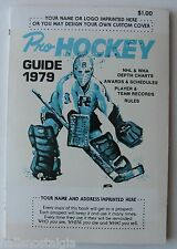 1979 Pro Hockey Guide (NHL & WHA) Schedules, Records, Rules, etc.