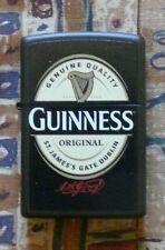 More details for alcohol guinness label zippo lighter free p&p free flints