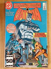 DETECTIVE COMICS #555 VF 1985 Batman Captain Boomerang Mirror Master Superman!!!