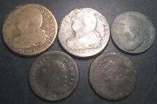 Louis XVI - Révolution Française - Directoire - lot de x5 monnaies ! 1784 à 1793