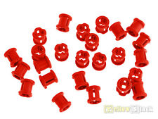 25x LEGO ® Technic 3713 STOPPER ROSSO RED NUOVO