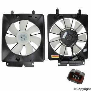 For Honda CR-V Element 2002 2006 A/C Condenser Fan Assembly TYC 610530T