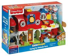 Fisher Price Caring For Animal Farm Playset Children Little People Sensory Toy