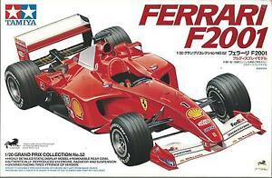 TAMIYA 1:20 KIT AUTO F1 FERRARI  F2001 GRAND PRIX COLLECTION N. 52  ART 20052