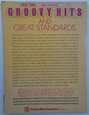 Groovy Hits And Great Standards: words, chords, music, vocal / piano sheet music