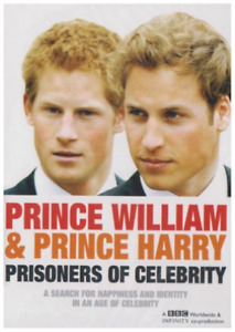 Prince William and Prince Harry: Prisoners of Celebrity DVD NEW