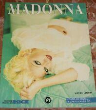 IMAGENES DEL ROCK LIBRO ESPECIAL MADONNA CON POSTER Y CARATULAS DE CD 1996