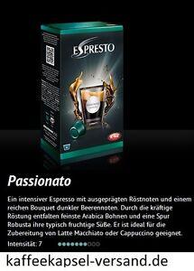 K-fee Espresto PASSIONATO ESPRESSO - 6x16=96 Kapseln - 3,71 € / 100 Gramm