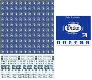 Duke University NCAA Scrapbook Kit Paper Stickers Sports Solution U-CHOOSE
