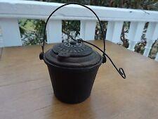 Antique Cast Iron Carpenter Glue Pot THE HOME