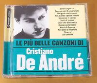 LE PIU' BELLE CANZONI DI CRISTIANO DE ANDRE' - 2006 - OTTIMO CD [AC-063]