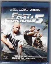 Blu-ray FAST & FURIOUS 5 Vin DIESEL Paul WALKER Dwayne JOHNSON