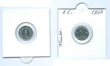 Francia 1 Centime 1997 fior di conio Solo 15.000 Pezzo