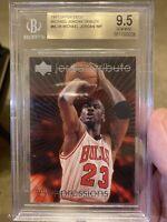 Michael Jordan 1997 Upper Deck Jordan Tribute MJ Impressions Card #MJ36 BGS 9.5