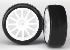 TRAXXAS 7572 LATRAX Neumáticos de Círculos BLANCO/LLANTAS & blanco RUEDAS