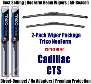 2-Pack Super-Premium NeoForm Wipers fit 2015+ Cadillac CTS - 162415/1715