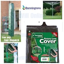 Washing Line Rotary Cover Clothes Protect Drier Waterproof Garden Parasol CA