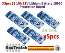 5pcs 3S 10A 12V Li-ion Lithium 18650 BMS PCM Battery Protection Board