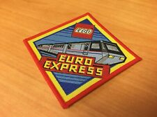 Vintage Lego Monorail Patch Badge Sew 80's/90's Euro Express Train RARE