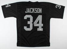 BO JACKSON Signed Autographed Black Jersey Beckett (BAS) COA